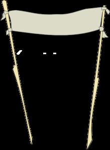 Banner Stand Clip Art.