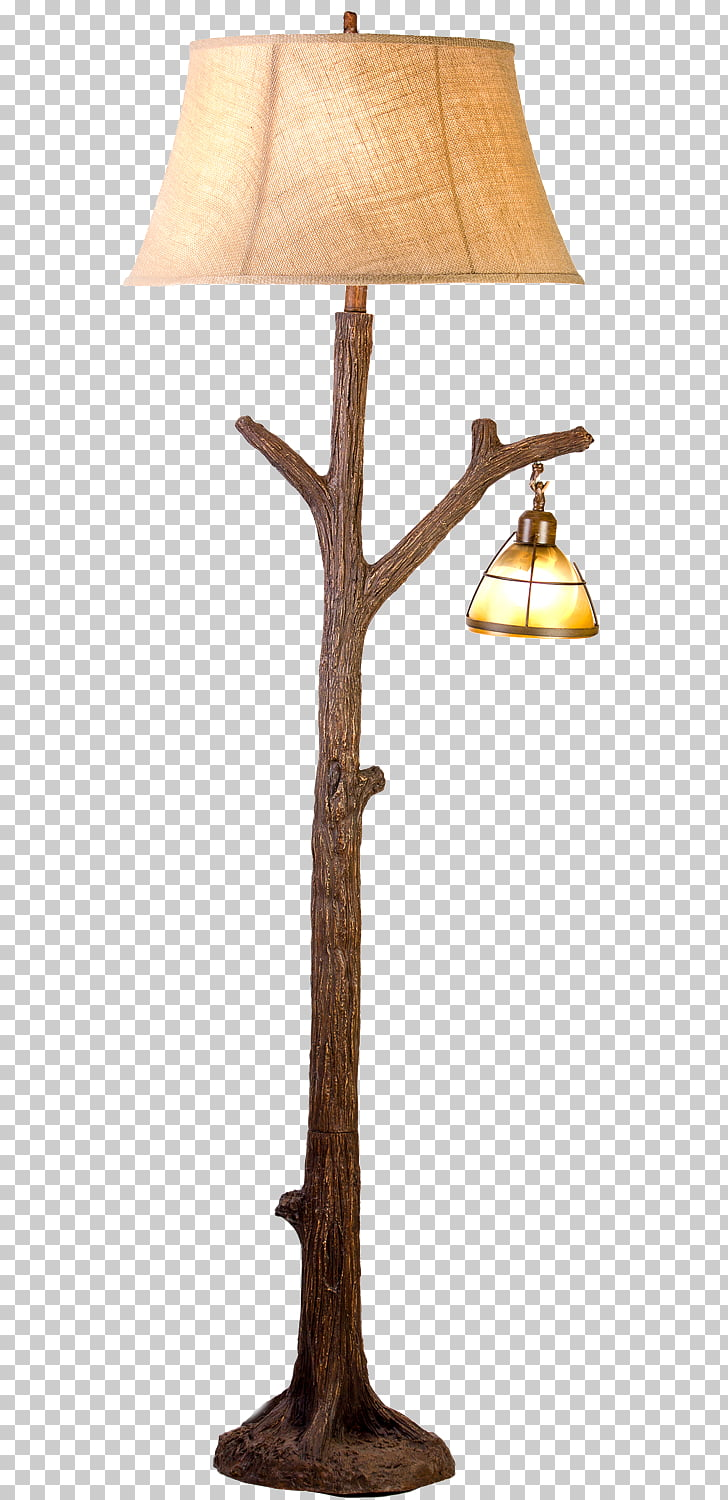 Lighting Nightlight Tree Lamp, lamp stand PNG clipart.
