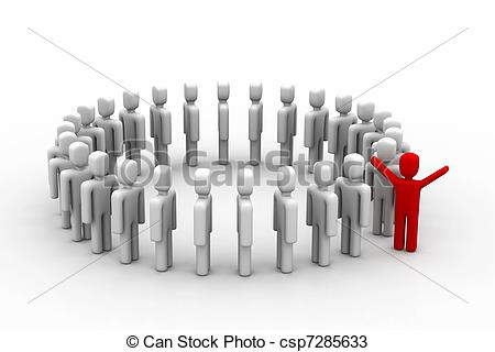 Stand out from the crowd Illustrations and Clipart. 1,851 Stand.