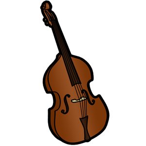 Download Free png Free Upright Bass Clip Art Im.