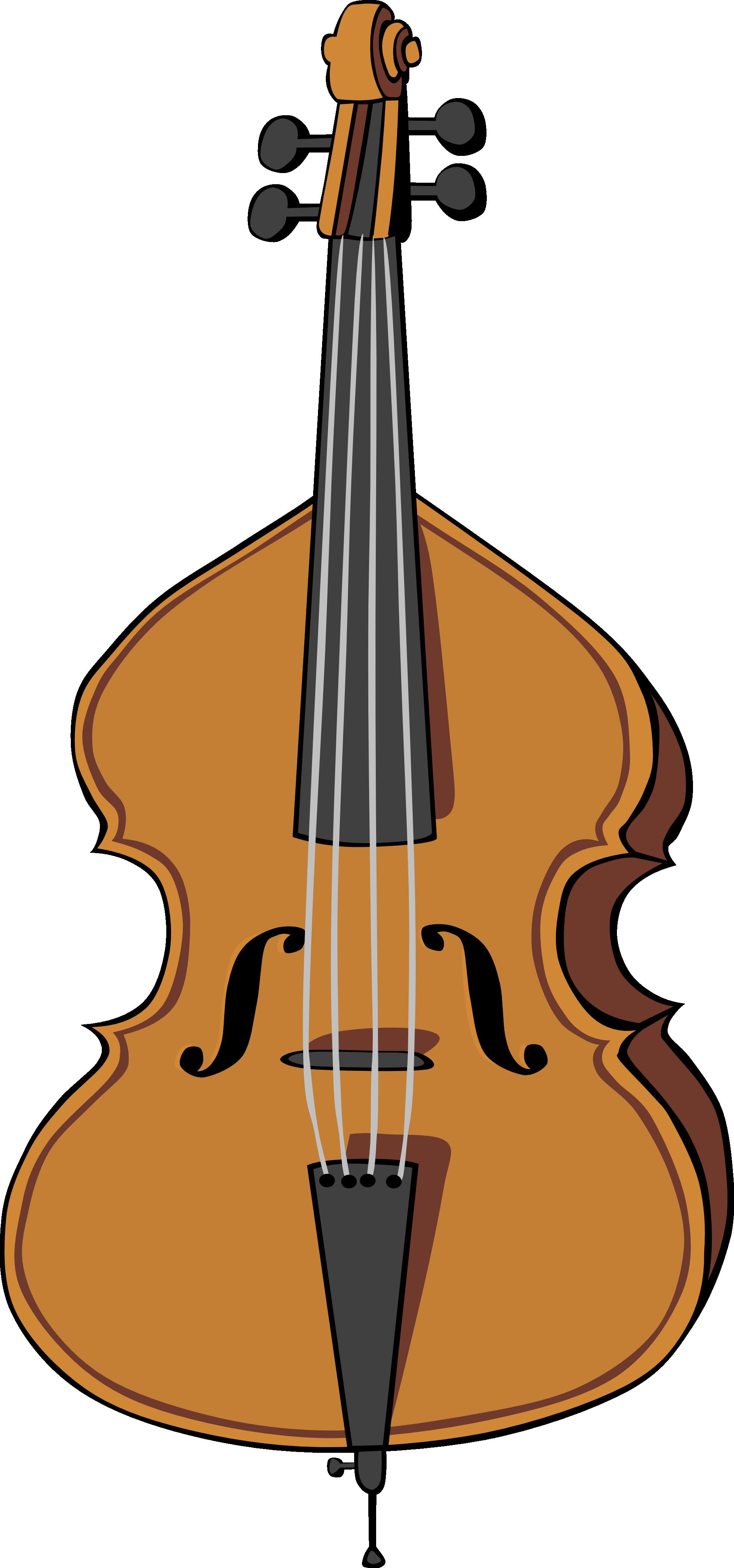 Upright Bass Clipart.