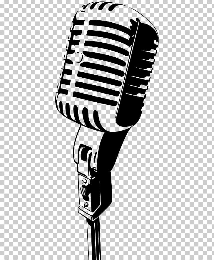 Microphone Comedian Stand.