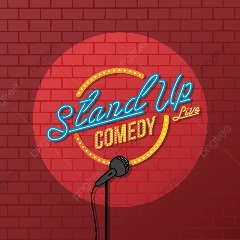 Stand Up Comedy, Stand, Up, Comedy PNG and Vector with.