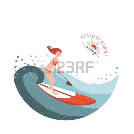 175 Stand Up Paddle Cliparts, Stock Vector And Royalty Free Stand.