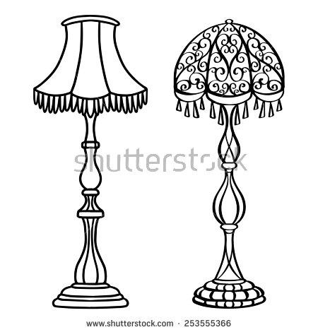 Standing Lamp Stock Photos, Royalty.