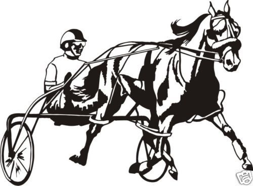 Gallery For > Standardbred Clipart.