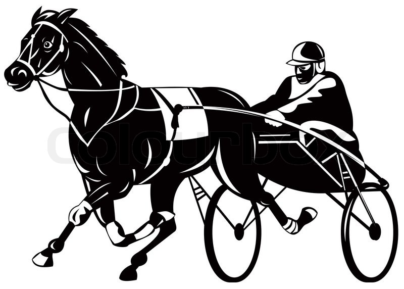 Horse Harness Racing Sulky