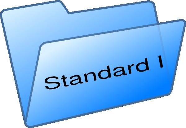 Standard I Clip Art at Clker.com.
