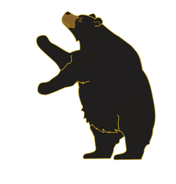 Gallery For Standing Bear Silhouette Clip Art.