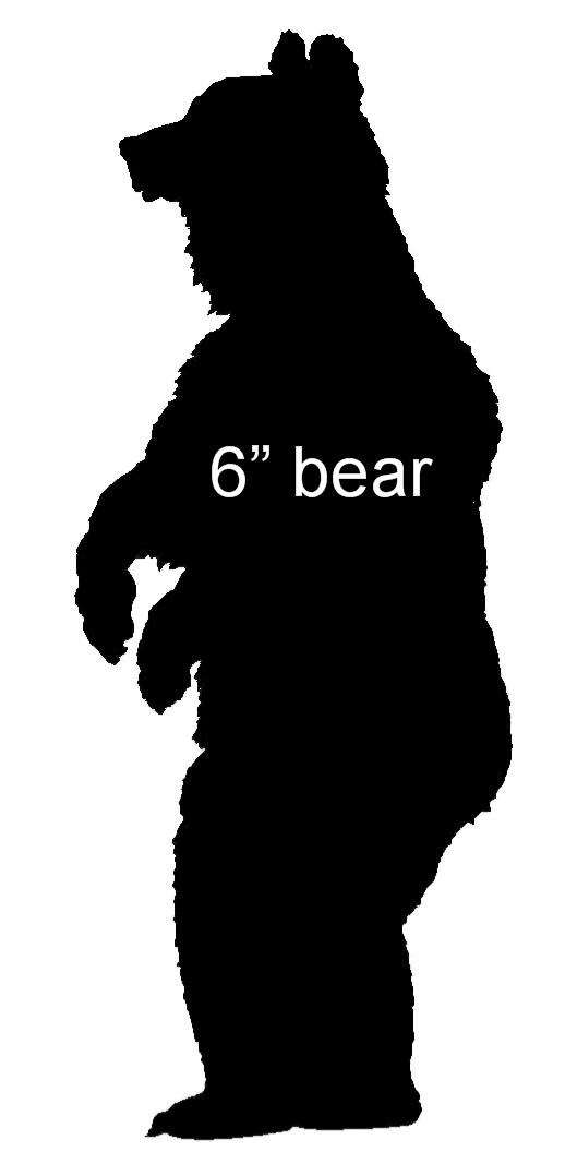 Standing Bear Silhouette.