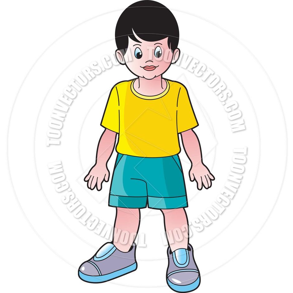 Standing boy clipart 7 » Clipart Portal.