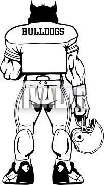 Standing bulldog clipart 8 » Clipart Portal.