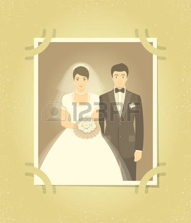 6,917 Married Couple Cartoon Cliparts, Stock Vector And Royalty.