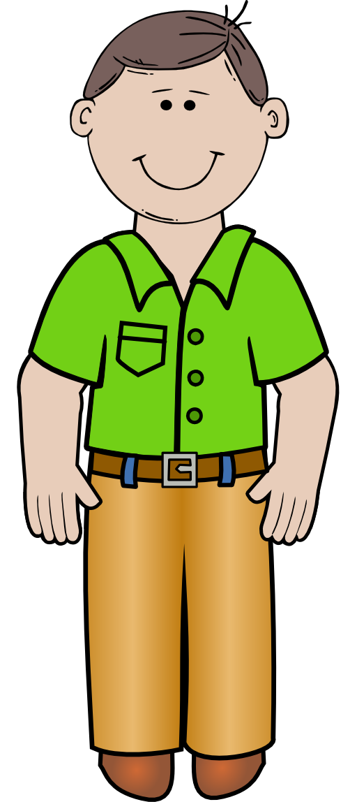 Standing Clipart.