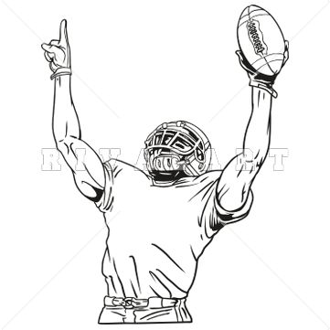 62 best images about Football Clip Art on Pinterest.