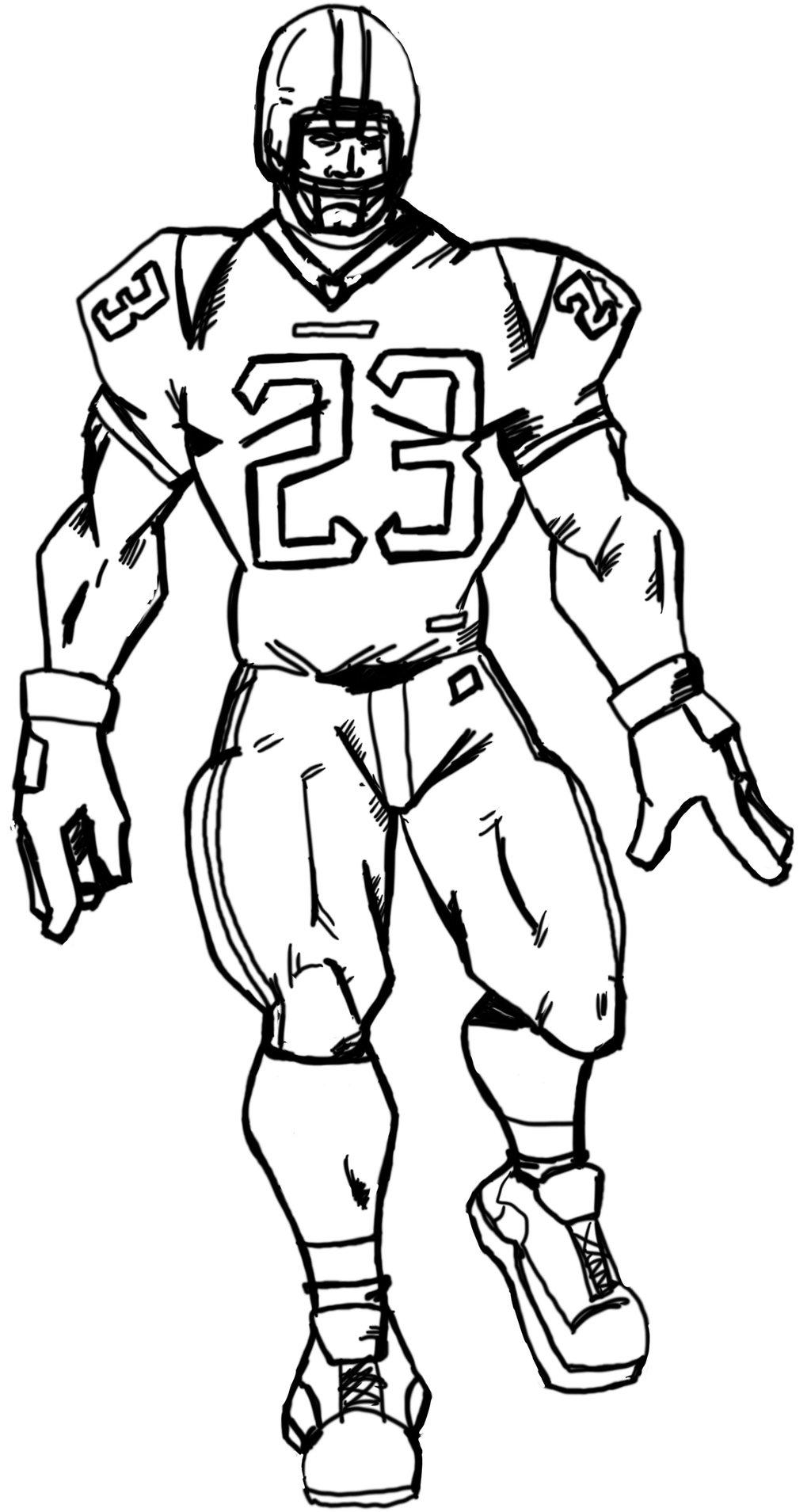 Drawing Football Players.