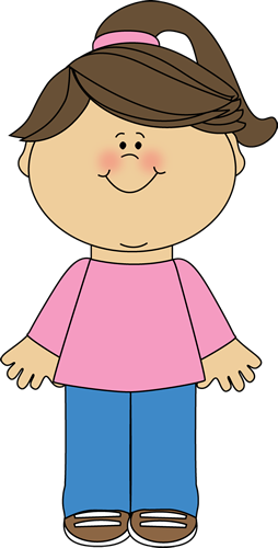 girl standing Girl clipart png.