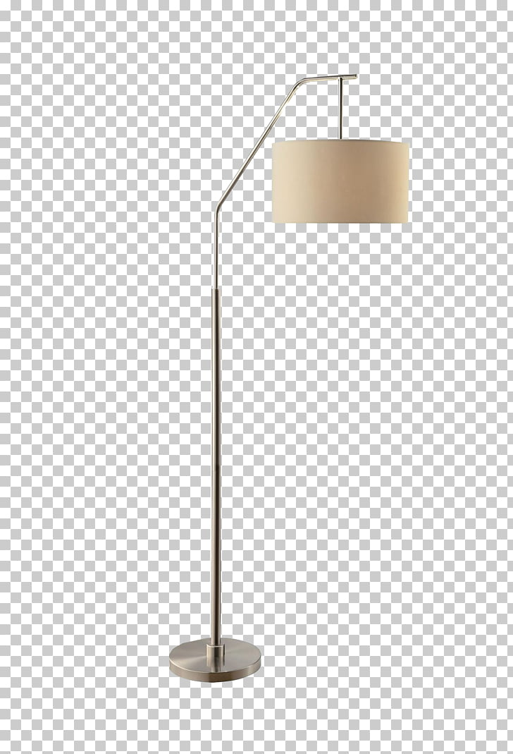 Lampe de bureau Light, White minimalist standing lamp, gray.
