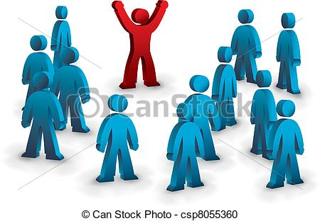 Standing out Vector Clipart Royalty Free. 4,518 Standing out clip.