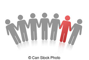 Standing out crowd Illustrations and Clipart. 2,861 Standing out.