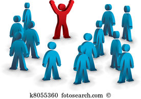 Standing out crowd Clip Art and Illustration. 475 standing out.