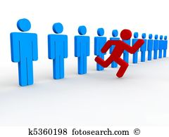 Standing out crowd Illustrations and Clipart. 2,427 standing out.