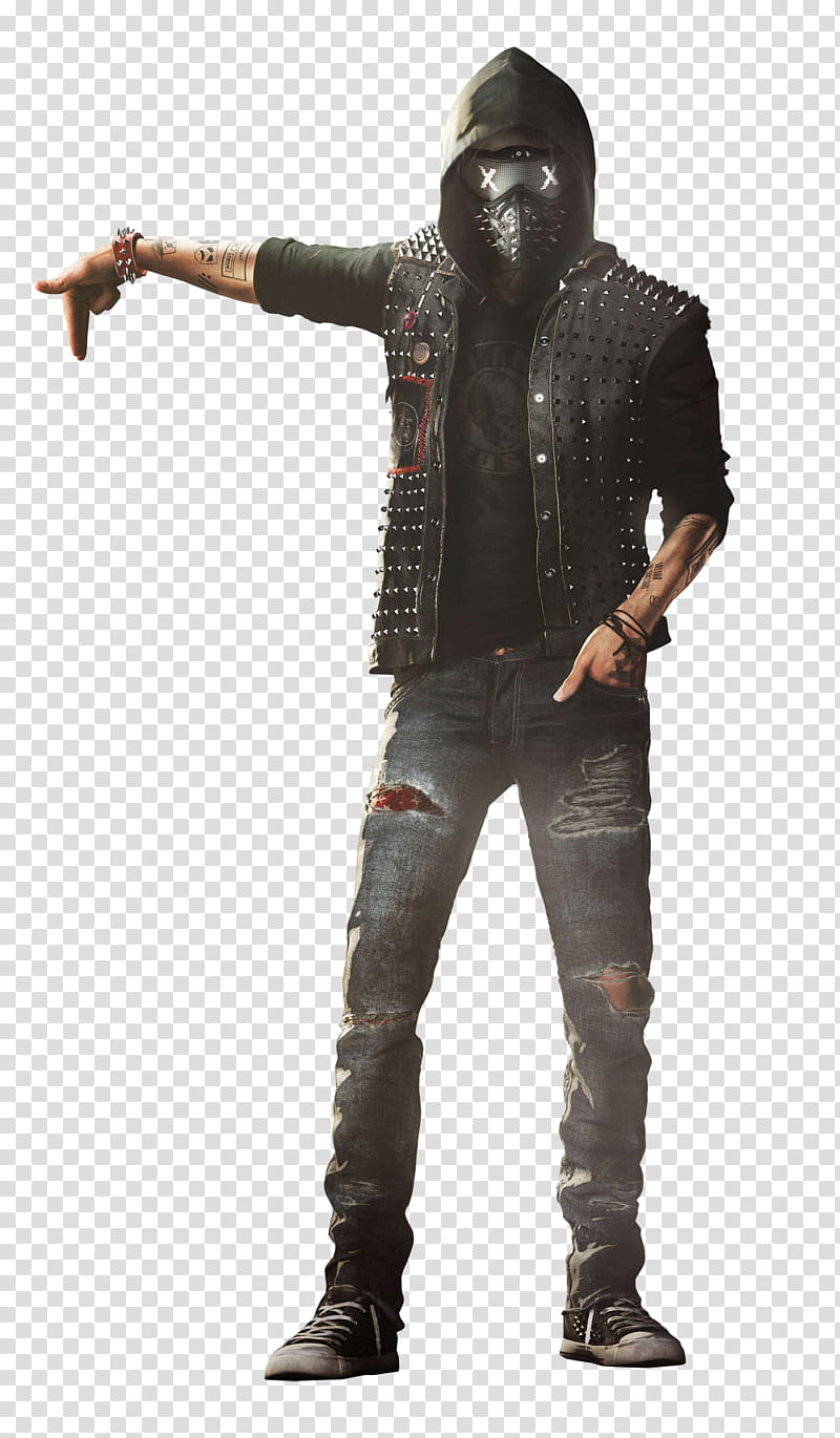 Watch Dogs Wrench render , unknown person standing.