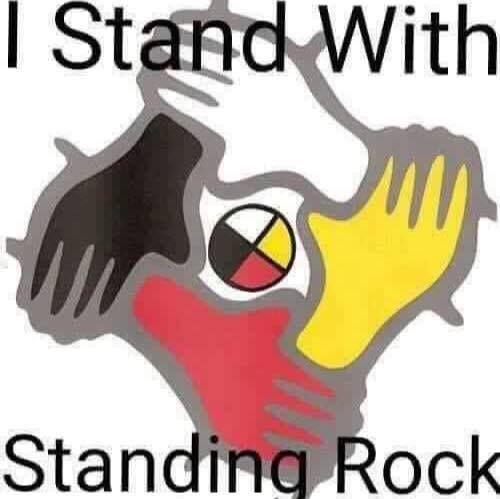 I Stand with Standing Rock.