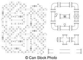 Standpipe Vector Clipart Royalty Free. 13 Standpipe clip art.