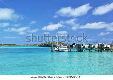 Staniel Cay Yacht Club Exumas Bahamas Stock Photo 239722849.