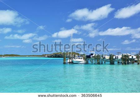 Staniel Cay Yacht Club Exumas Bahamas Stock Photo 239722849.