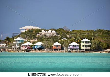 Pictures of Staniel Cay Yacht Club. Exumas, Bahamas k15047728.