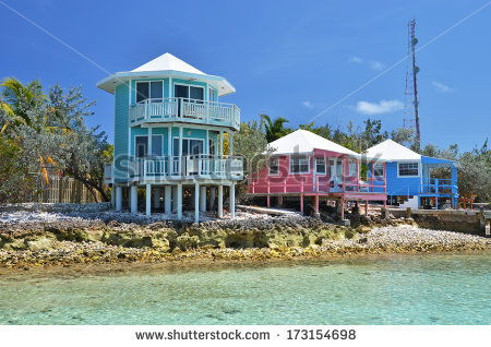 Staniel Cay Yacht Club Exumas Bahamas Stock Photo 135685751.