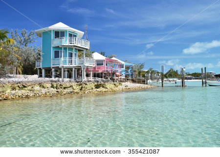 Staniel Cay Yacht Club Exumas Bahamas Stock Photo 355421087.