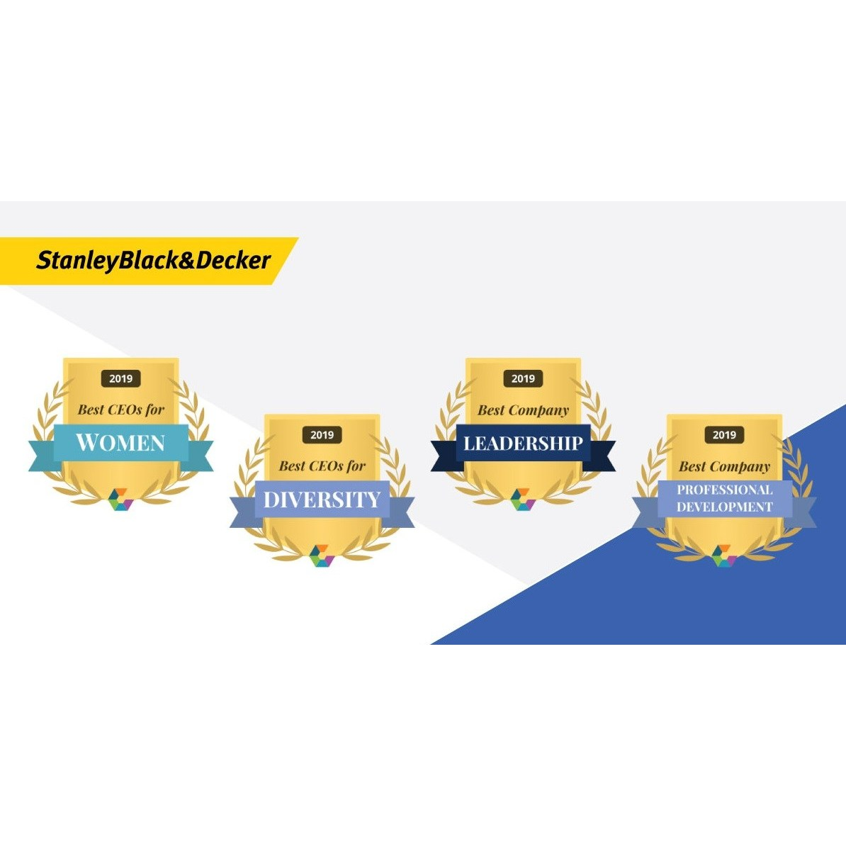 Stanley Black & Decker Wins Comparably Awards: Best CEO For.