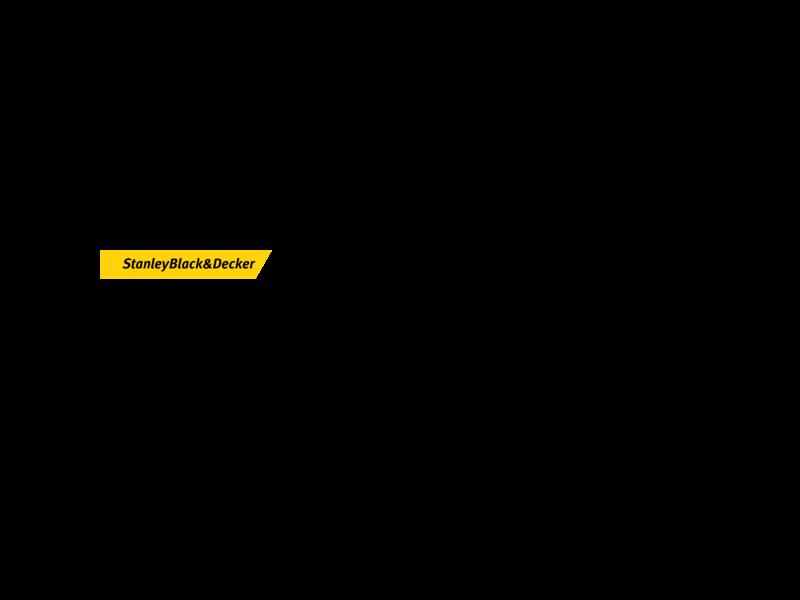 Stanley Black And Decker Logo PNG Transparent & SVG Vector.
