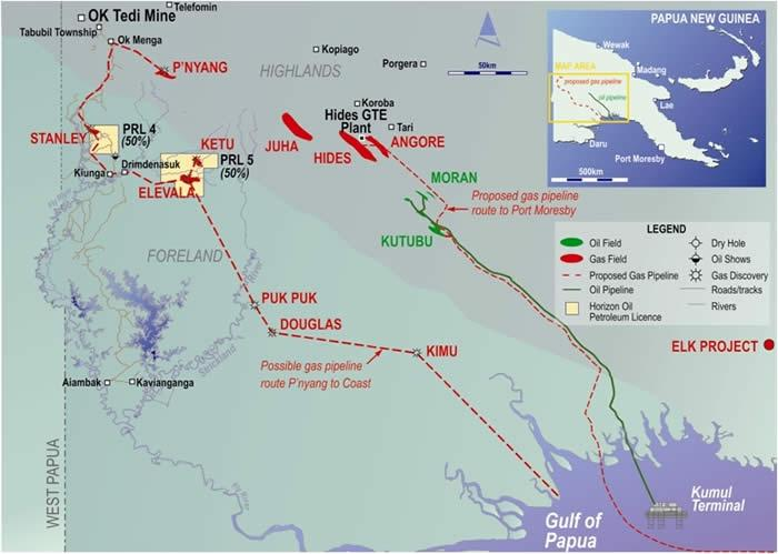 PNG: Horizon Oil makes gas discovery with Stanley.