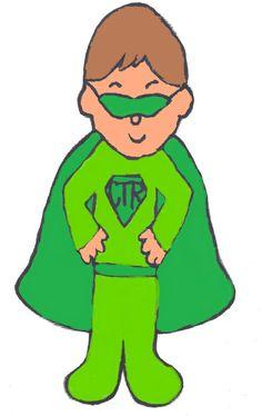 CTR Superhero Clipart lt.