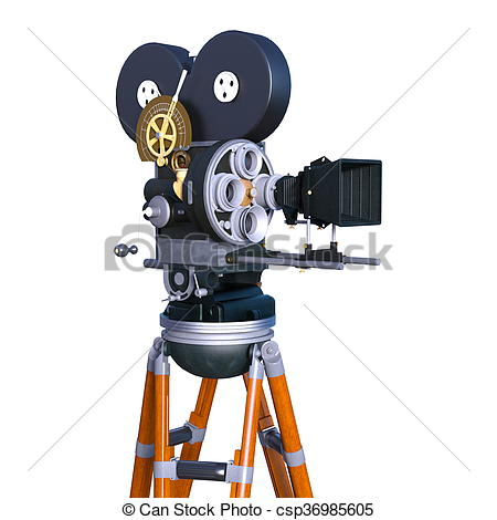 Stock Illustration of Stans camera.