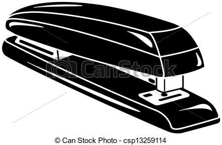 Vector Clip Art of stapler vector illustration csp13259114.