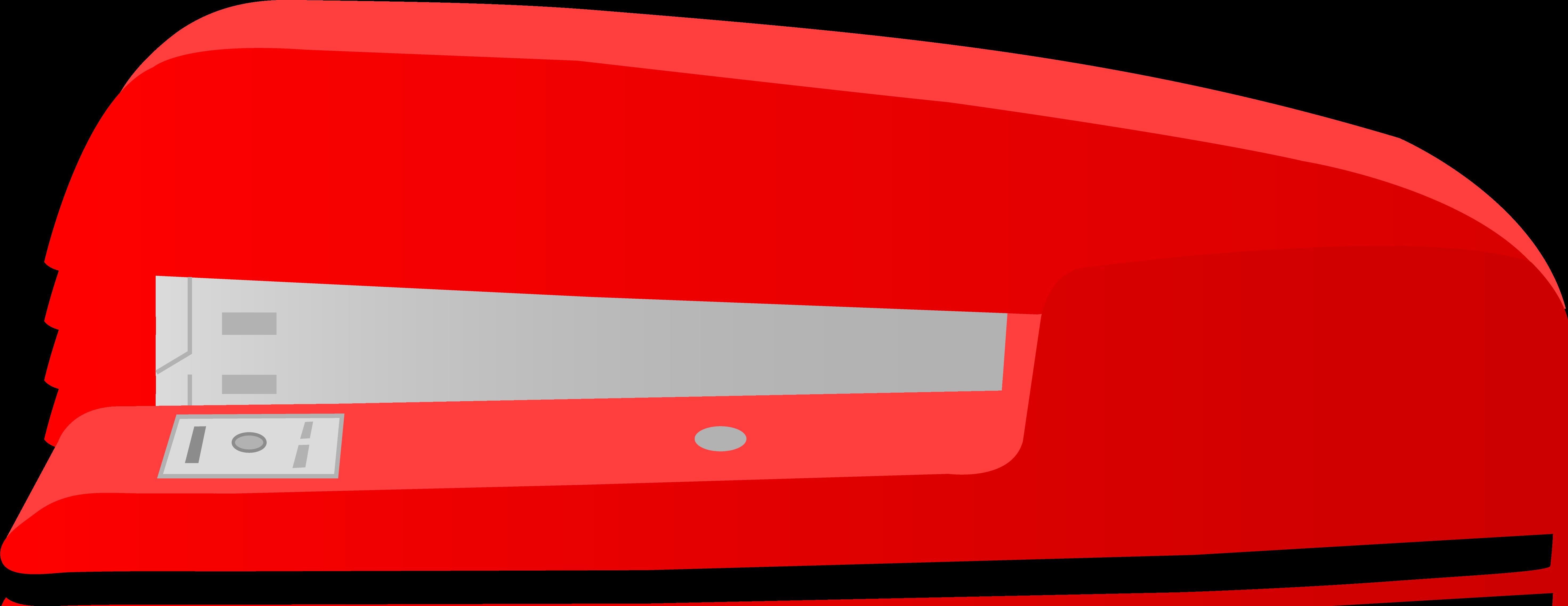 Large Red Office Desk Stapler.