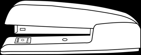 Stapler clip art.