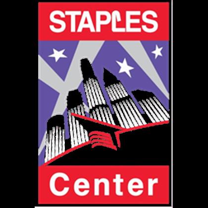 Staples Center Logo Test.