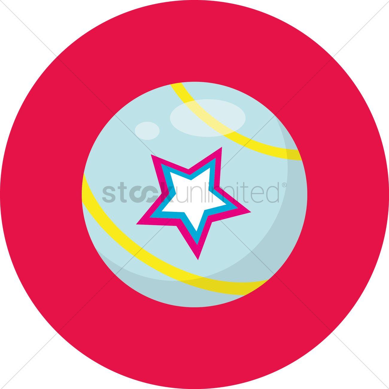 Free Star ball Vector Image.
