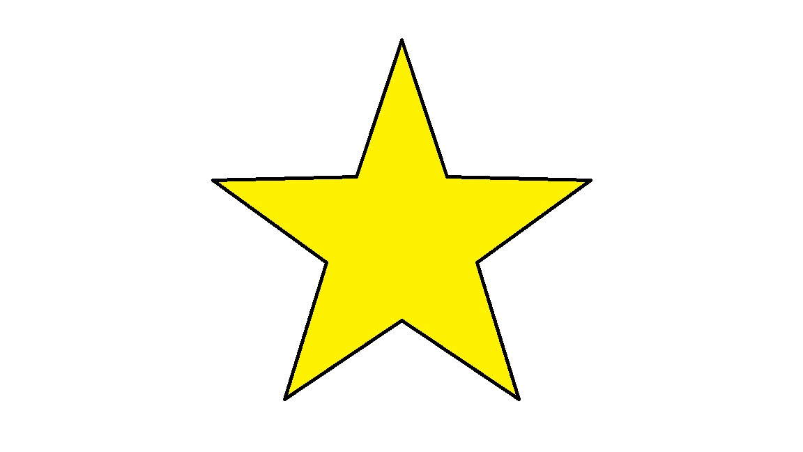 Birth of a star clipart.