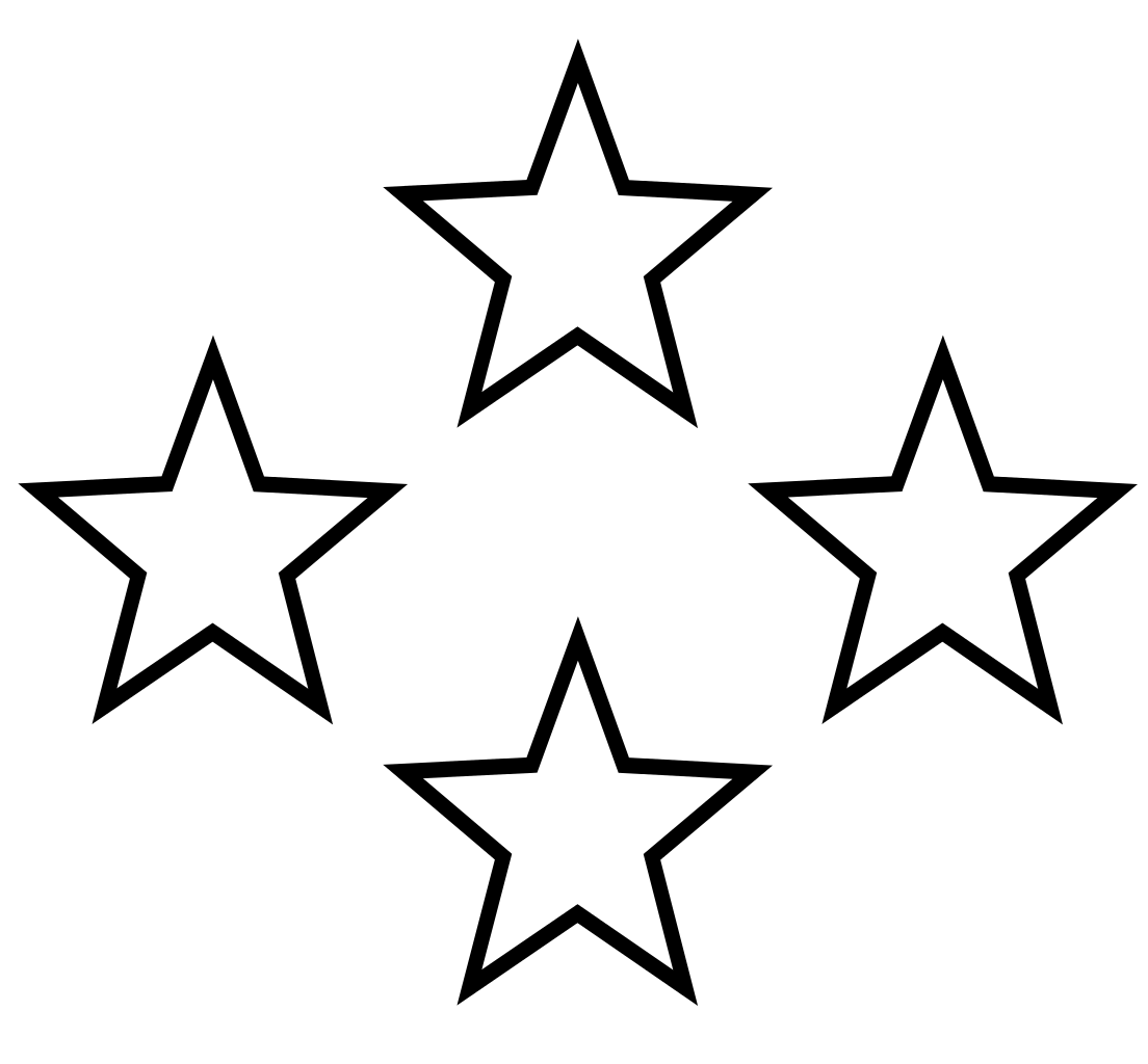 Free Black And White Clipart Star, Download Free Clip Art.