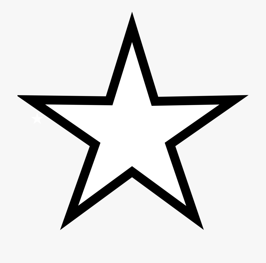 Star Black And White Shooting Star Clip Art Black And.