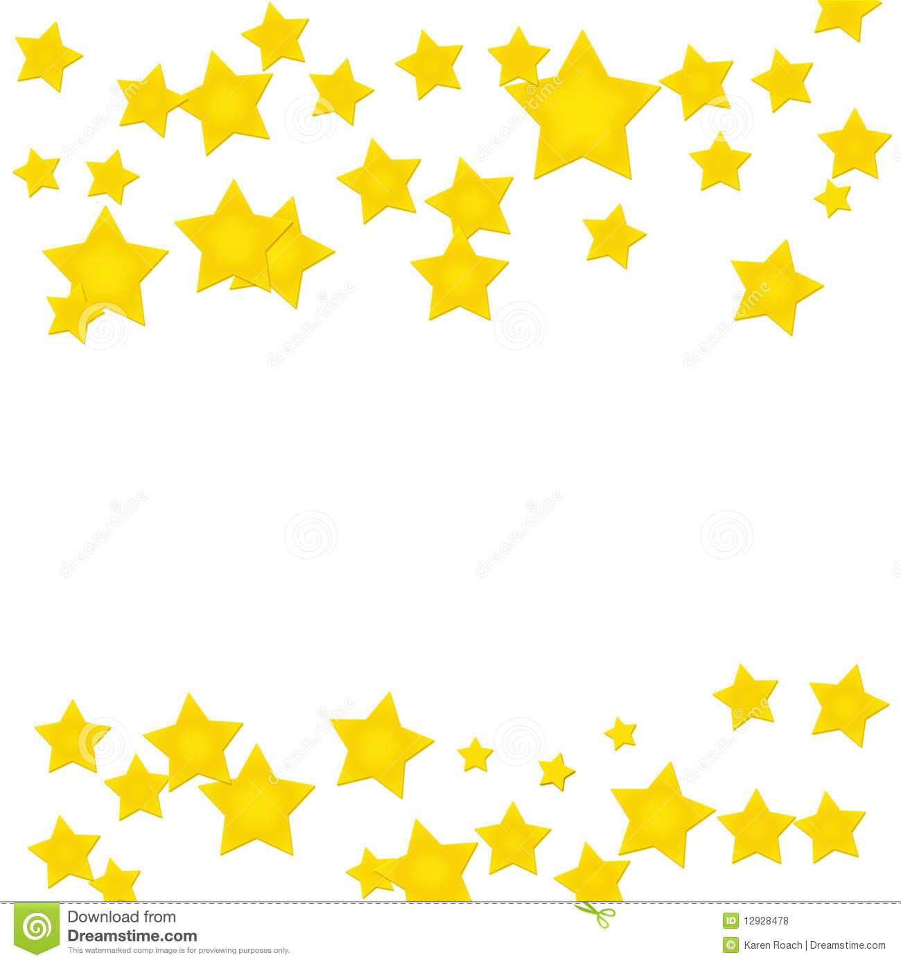 402 Star Border free clipart.