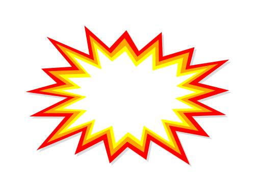 Starburst Explosion Vector (EPS, SVG, PNG).