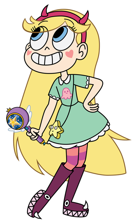 Star Butterfly Clipart.
